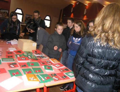 Atelier « cartes en fêtes »