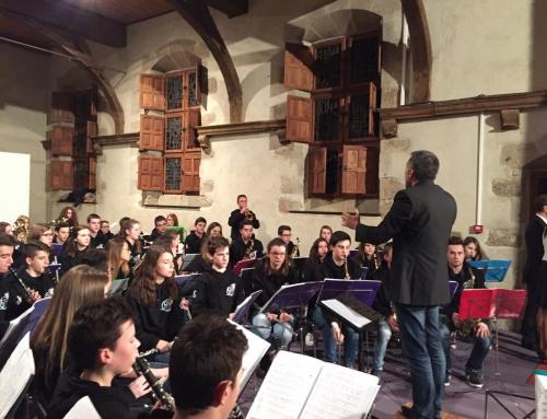 Concert lors des voeux de M. le Sous-Préfet de Fougères-Vitré