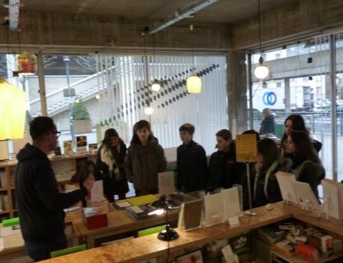 Sortie culturelle pour l'option arts plastiques et classes orchestres à Rennes