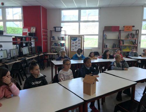 Venue des élèves de Jean de La Mennais au CDI