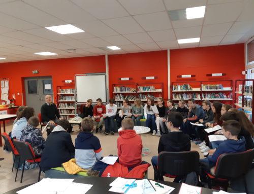 Rencontre avec un auteur -Salon du livre jeudi 15 novembre