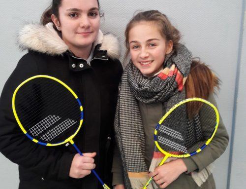 Départemental Badminton mercredi 30 janvier