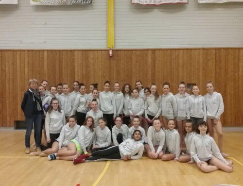 Championnat Départemental gymnastique rythmique UGSEL mercredi 30 janvier