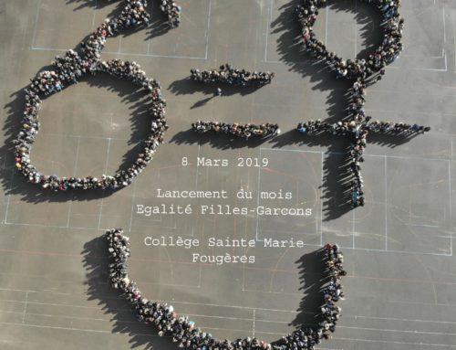 """Lancement du Mois de mars : """"Egalité Filles-garçons"""""""