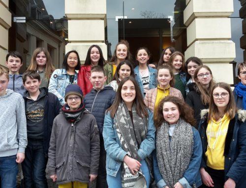 Echange avec les élèves de l'option théâtre et les lycéens d'Edmond Michelet