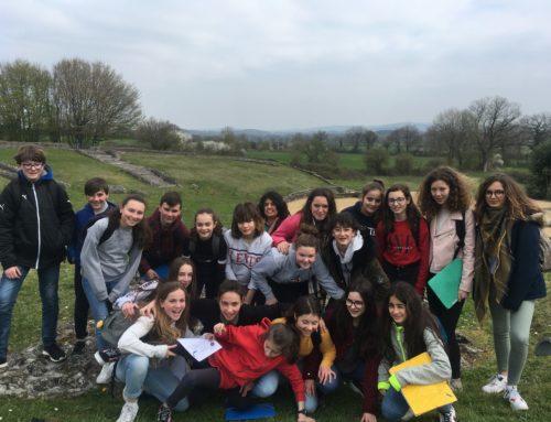 Visite à Jublains des élèves latinistes