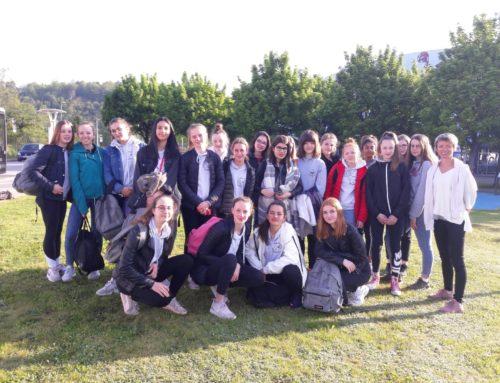 De retour du national de GR à st Dié des Vosges…
