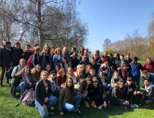 Semaine des voyages à l'étranger- avril 2019