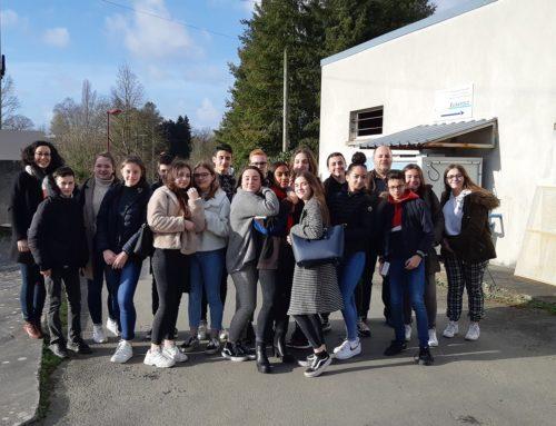 Les collégiens de Sainte-Marie découvrent l'industrie chez Euramold