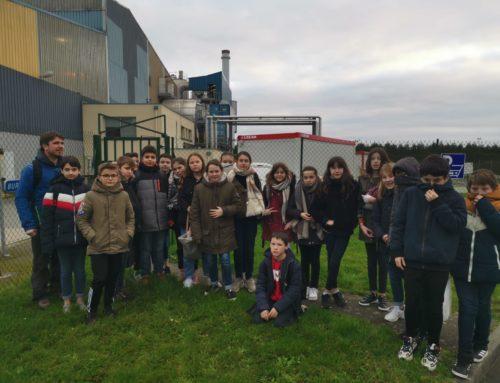 Visite au centre de tri de Vitré et de l'usine d'incinération