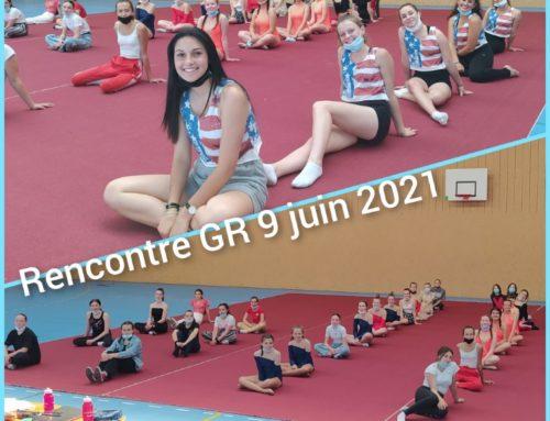 Compétition GR mercredi 9 juin